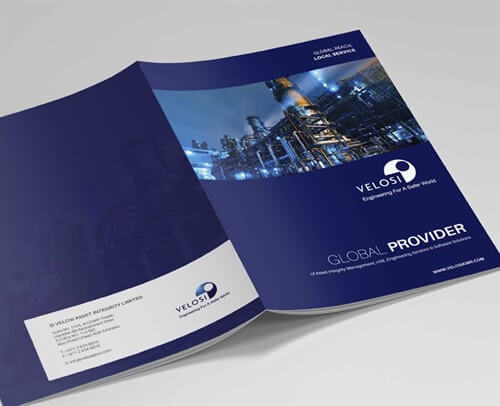 Corporate brochure design samples by Prism Digital