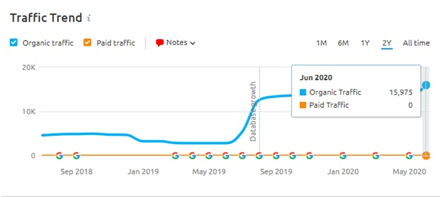 Traffic Insight June Core update 2020 -2xl