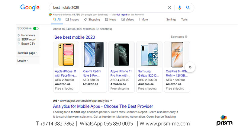 Google Shopping Ads campaign Sample